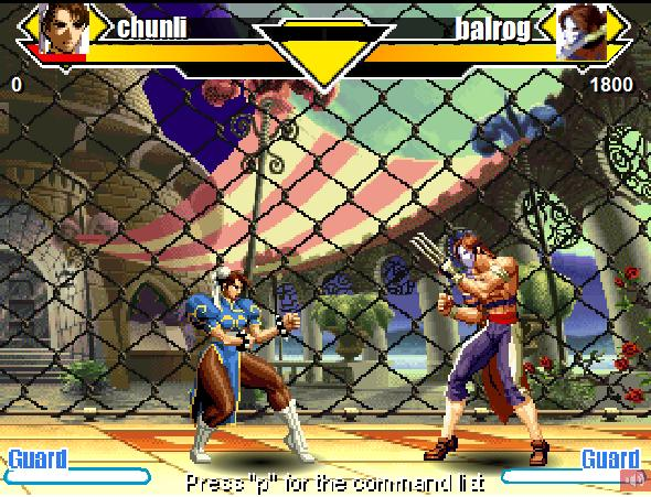Онлайн флеш игра Street Fighter 1 Flash