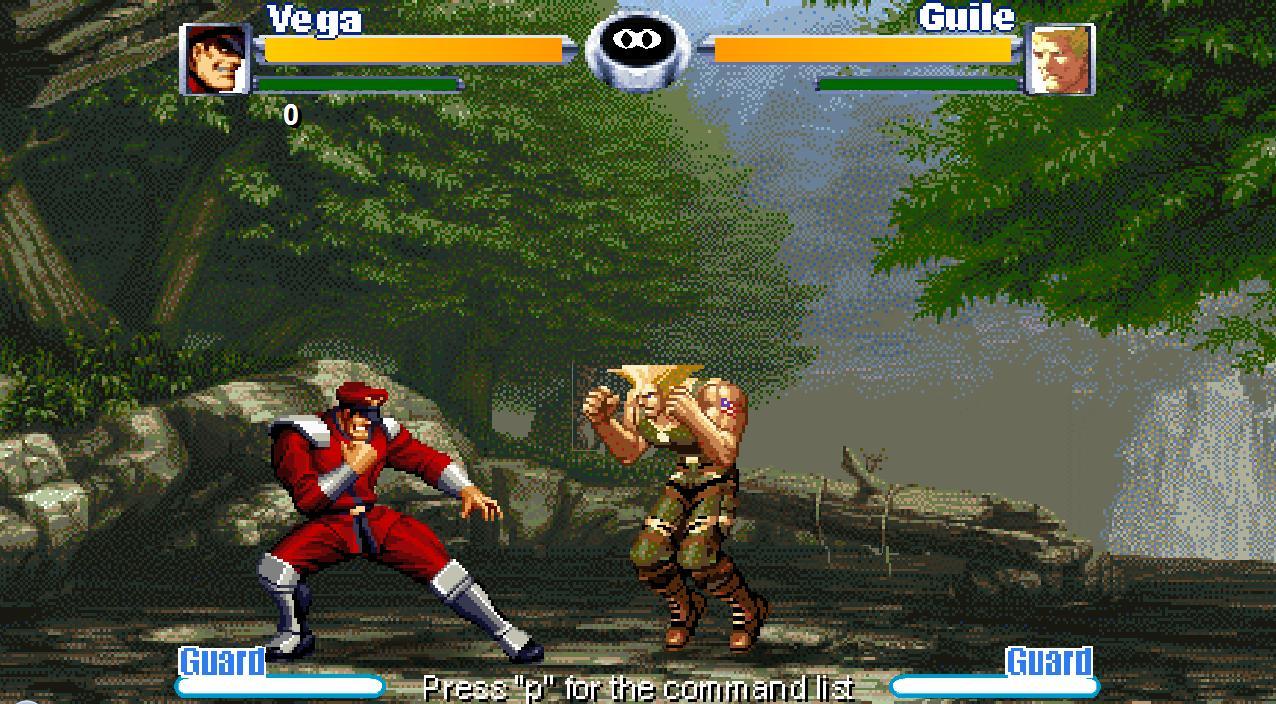 Онлайн флеш игра Street Fighter