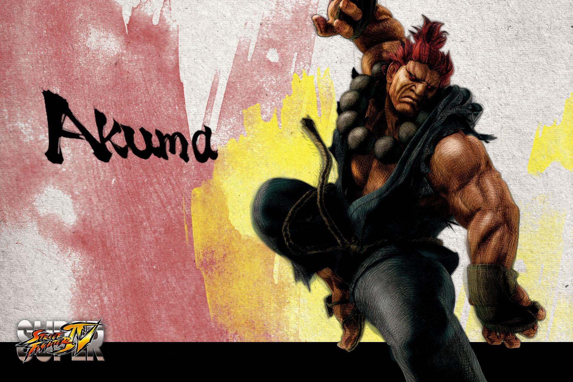 Обои Street Fighter Akuma