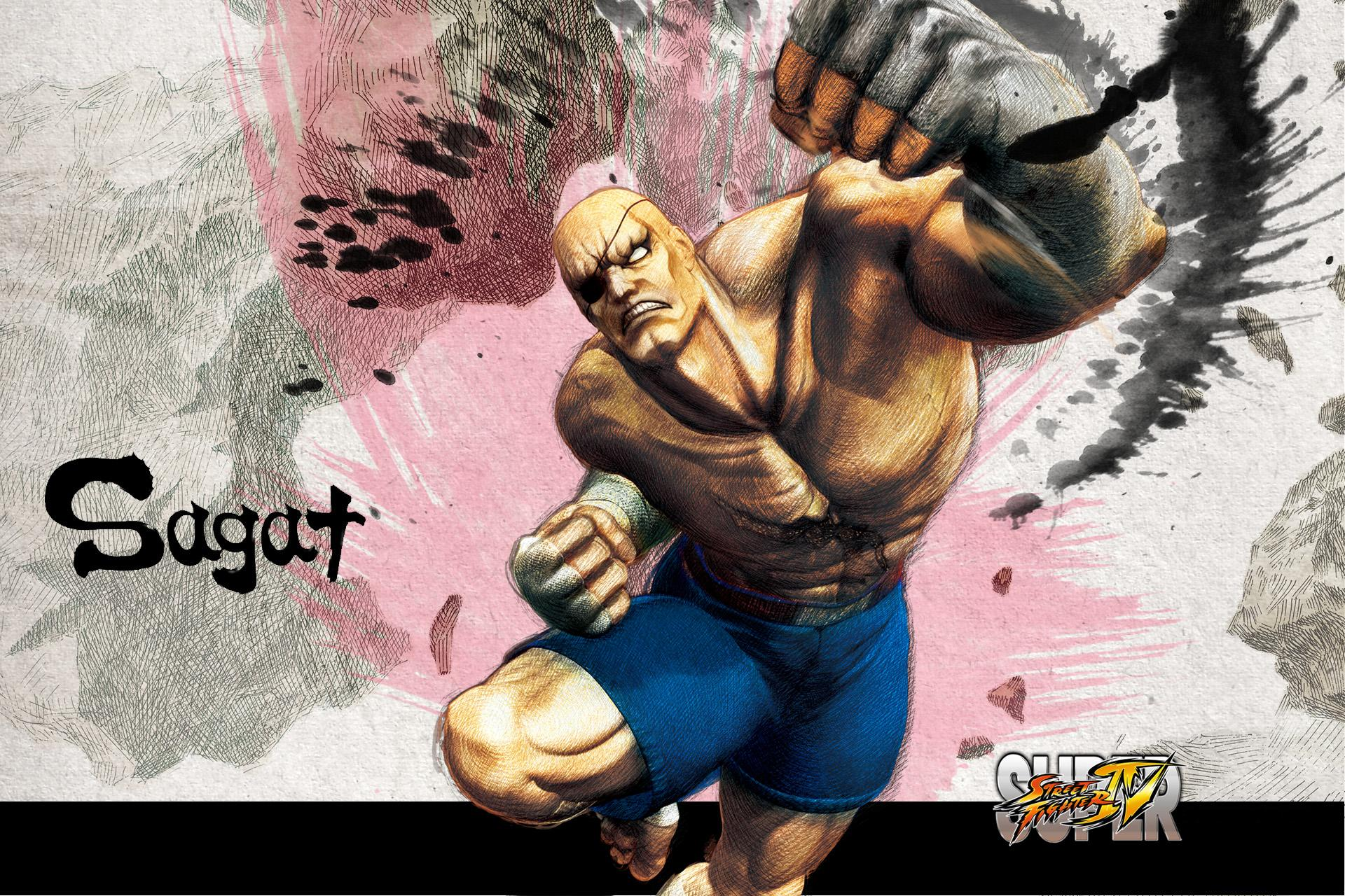 Обои Street Fighter Sagat