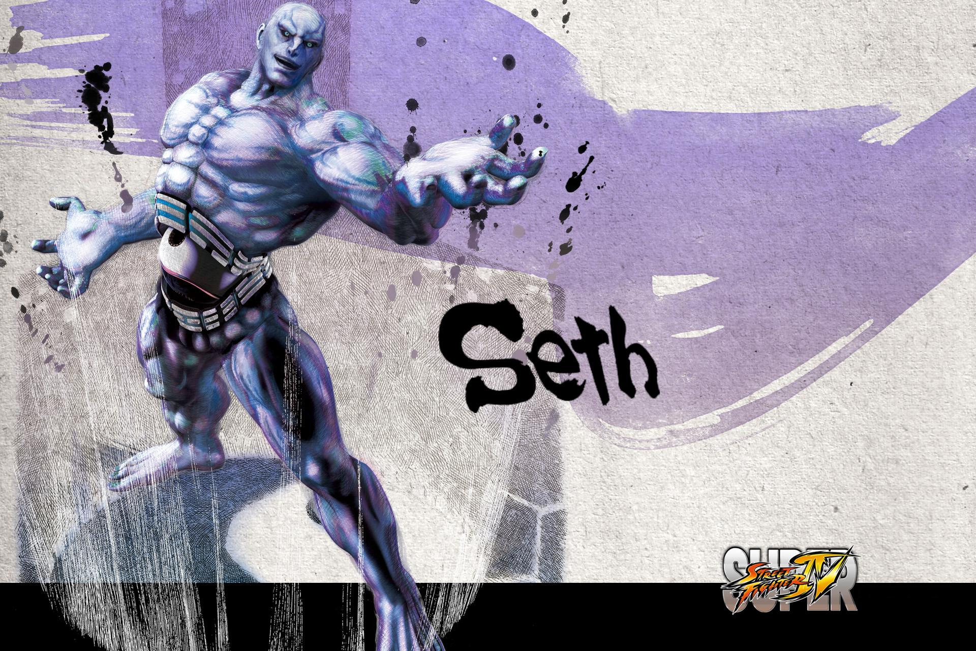 Обои Street Fighter Seth