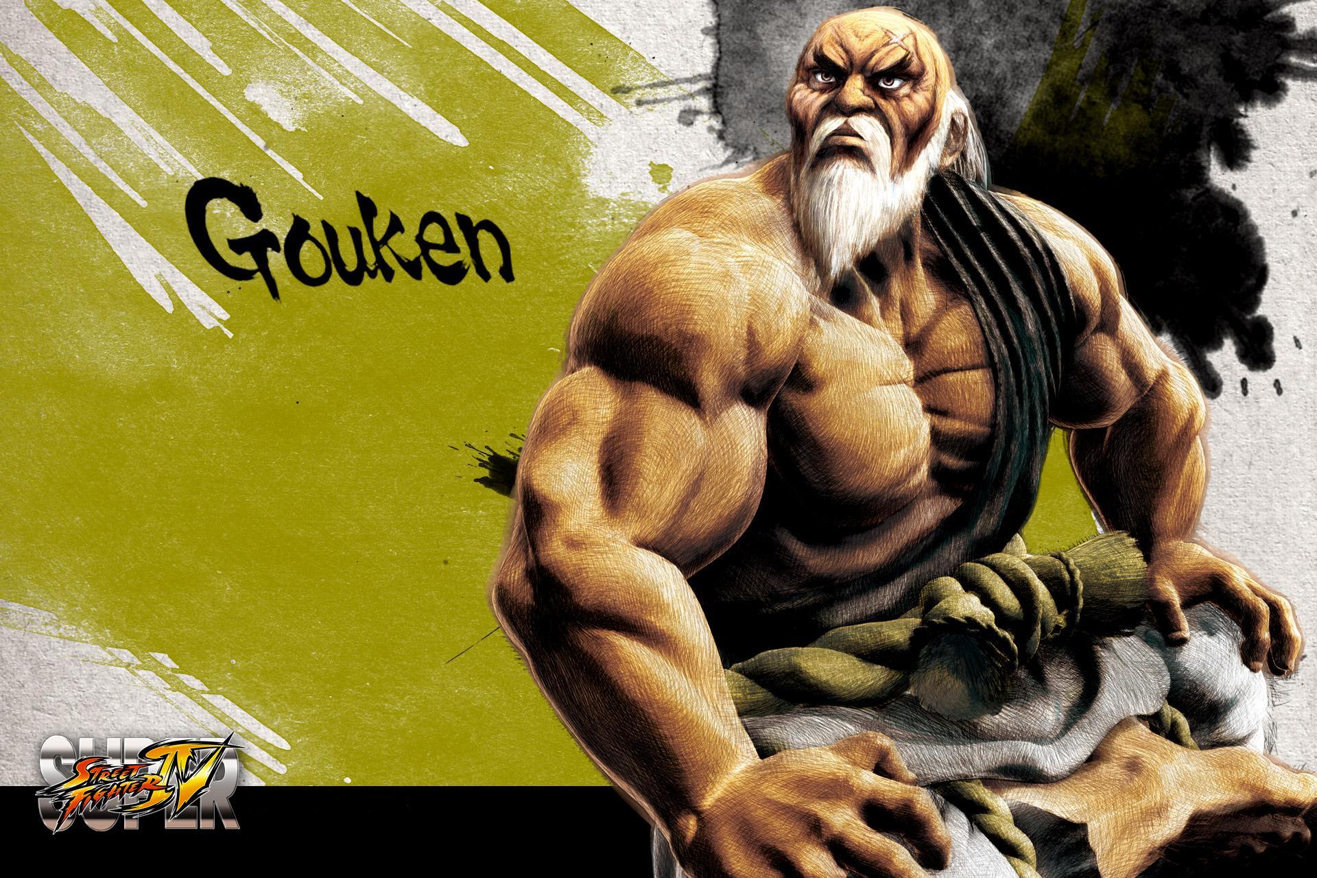 Обои Street Fighter Gouken