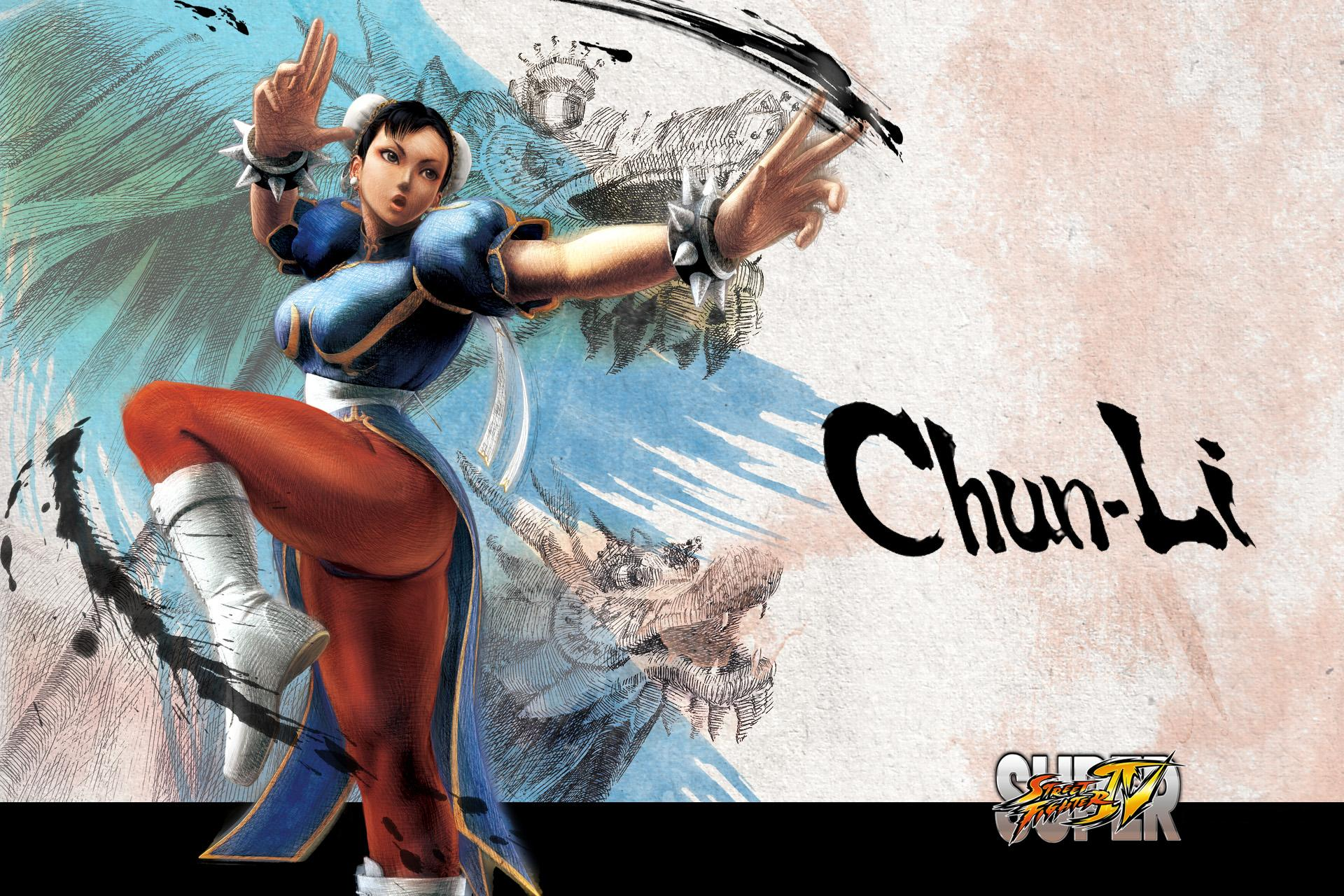 Обои Street Fighter Chun-Li