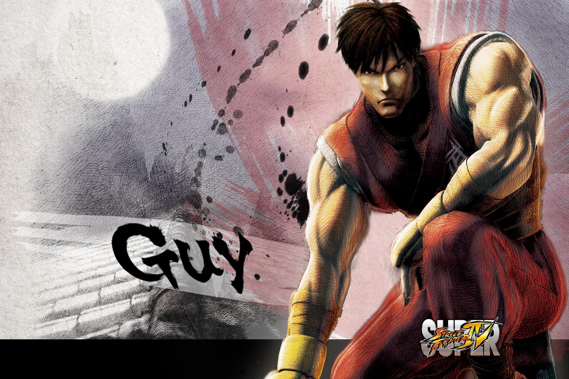 Обои Street Fighter Guy