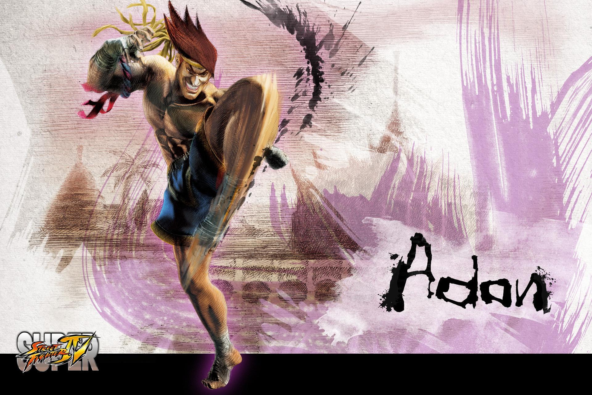 Обои Street Fighter Adon