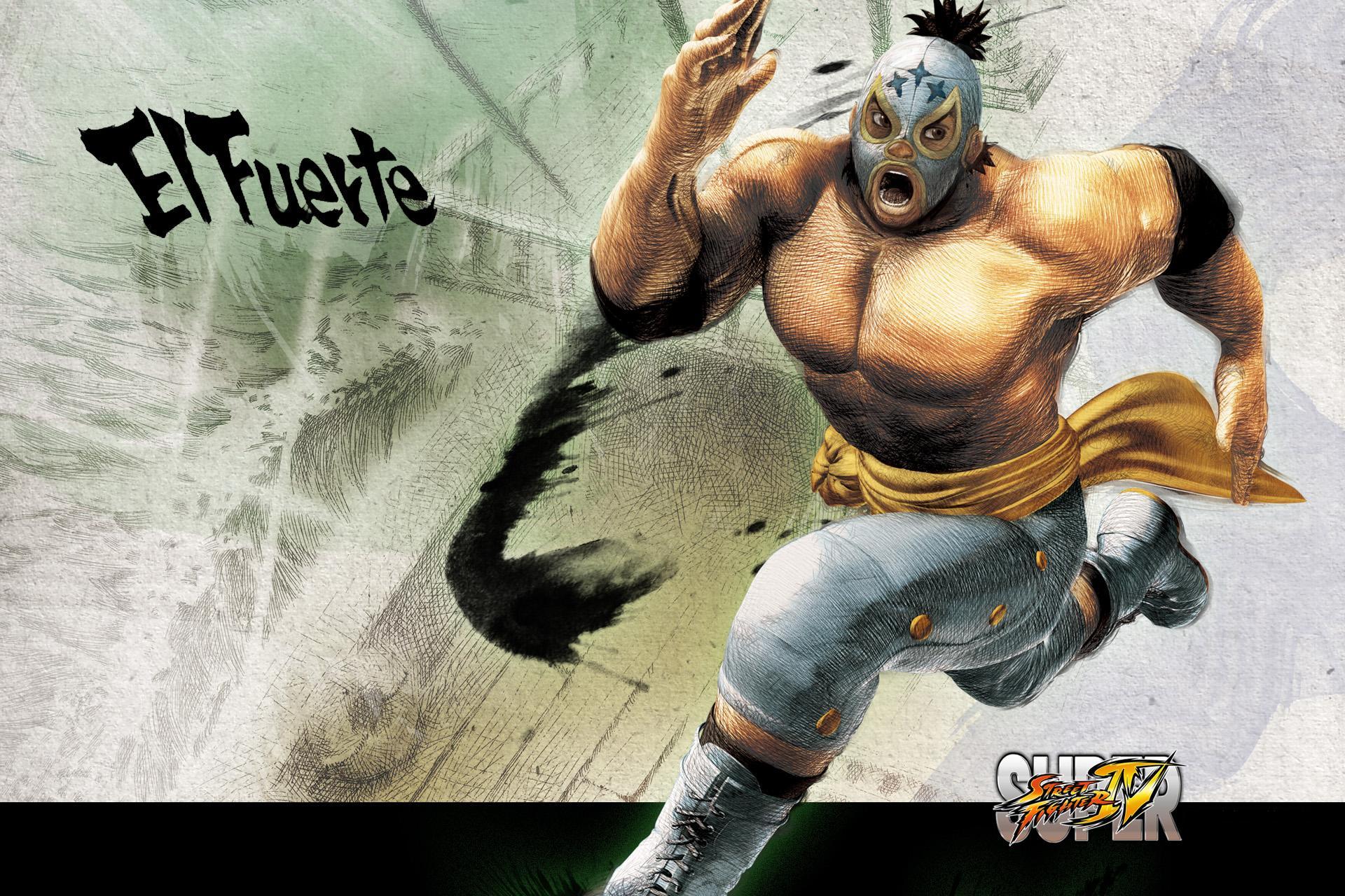 Обои Street Fighter El Fuerte