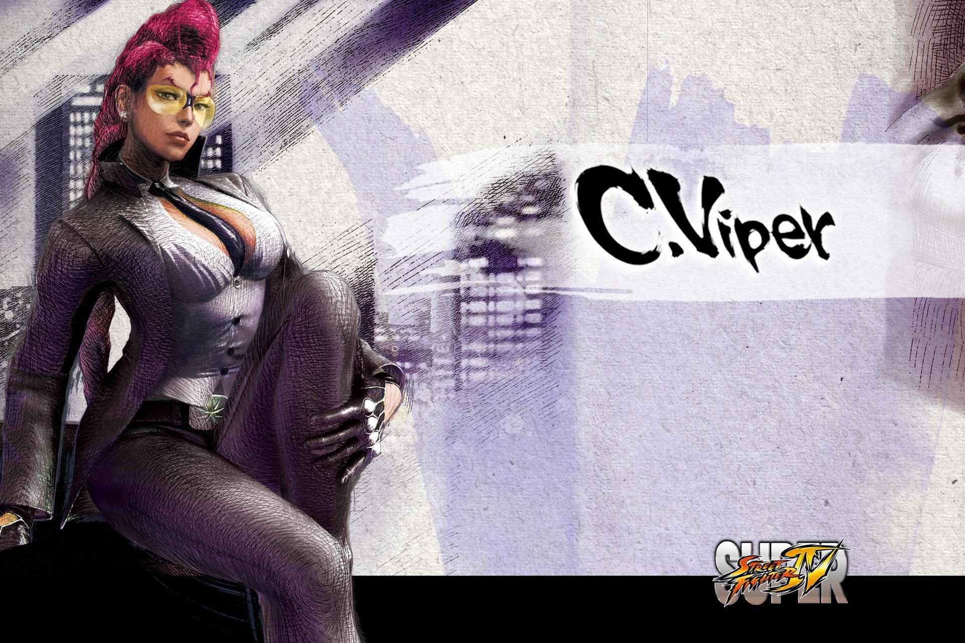 Обои Street Fighter C.Viper