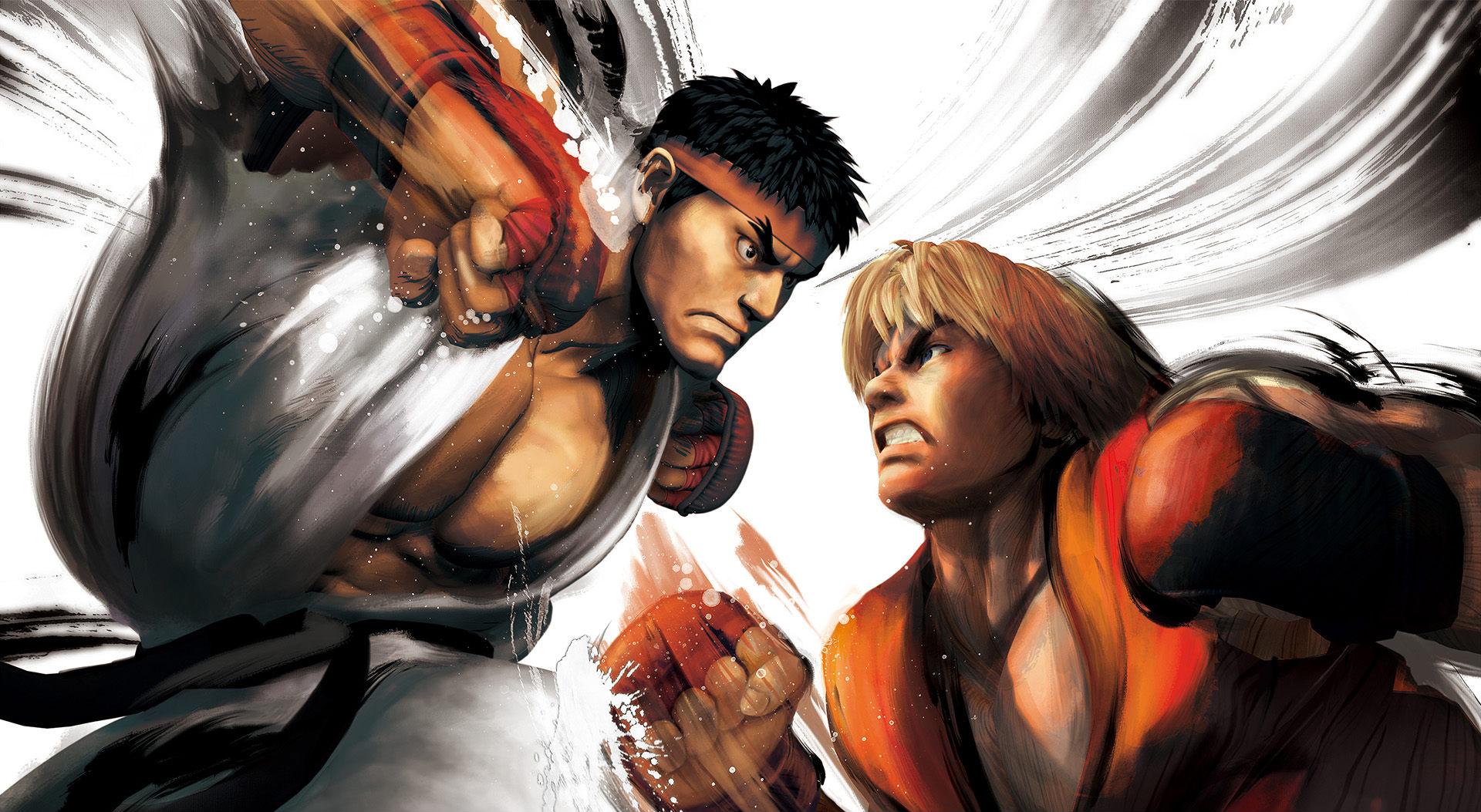 Обои Street Fighter бой