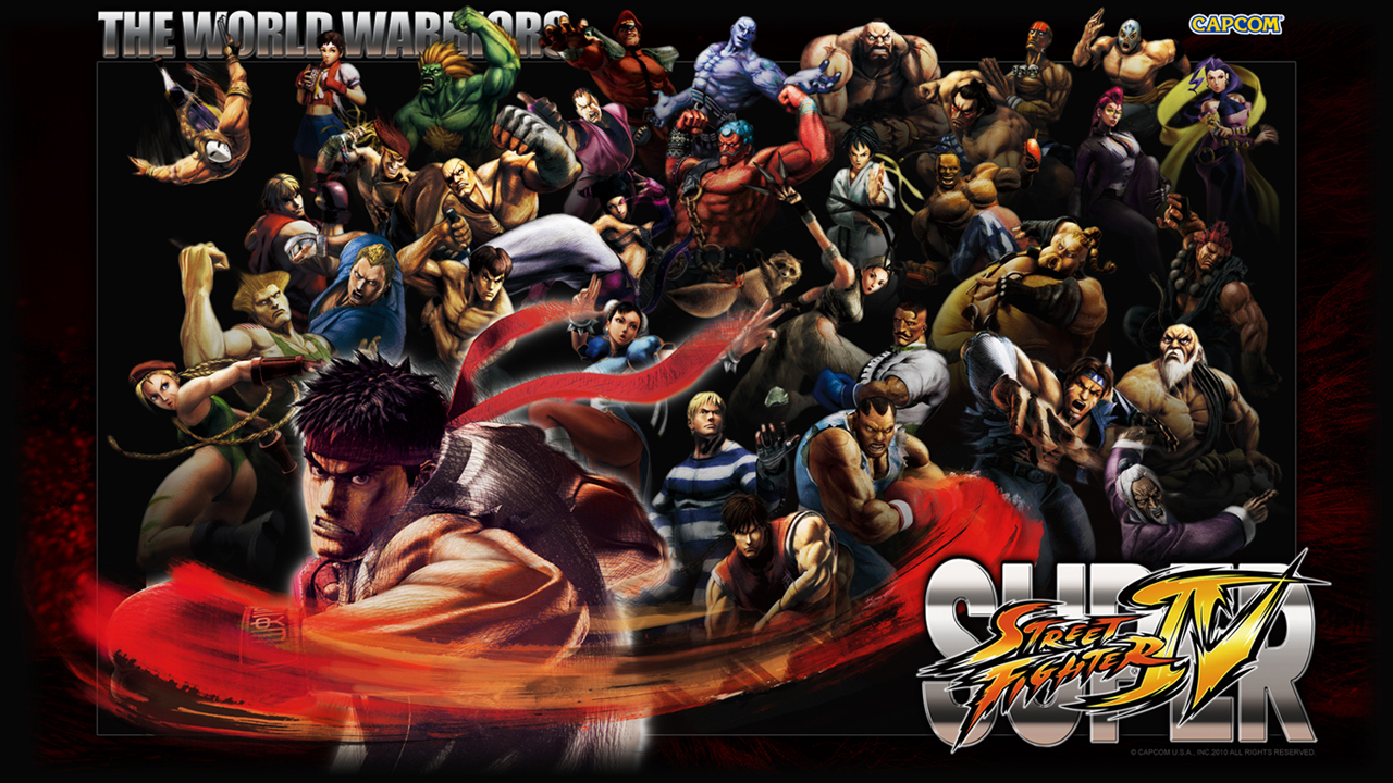 Обои Super Street Fighter IV