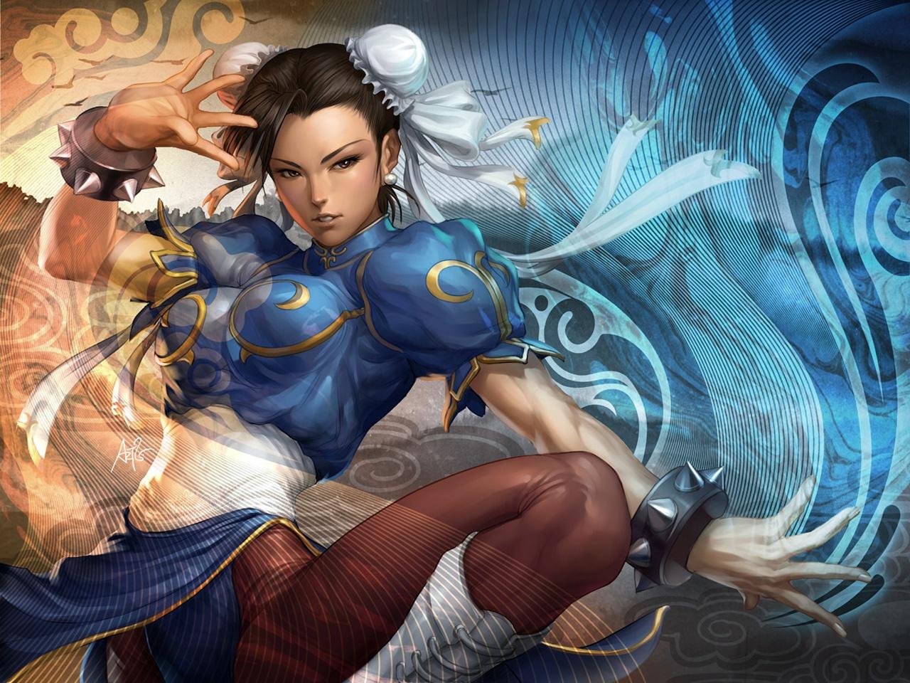 Обои Street Fighter Девушка 2
