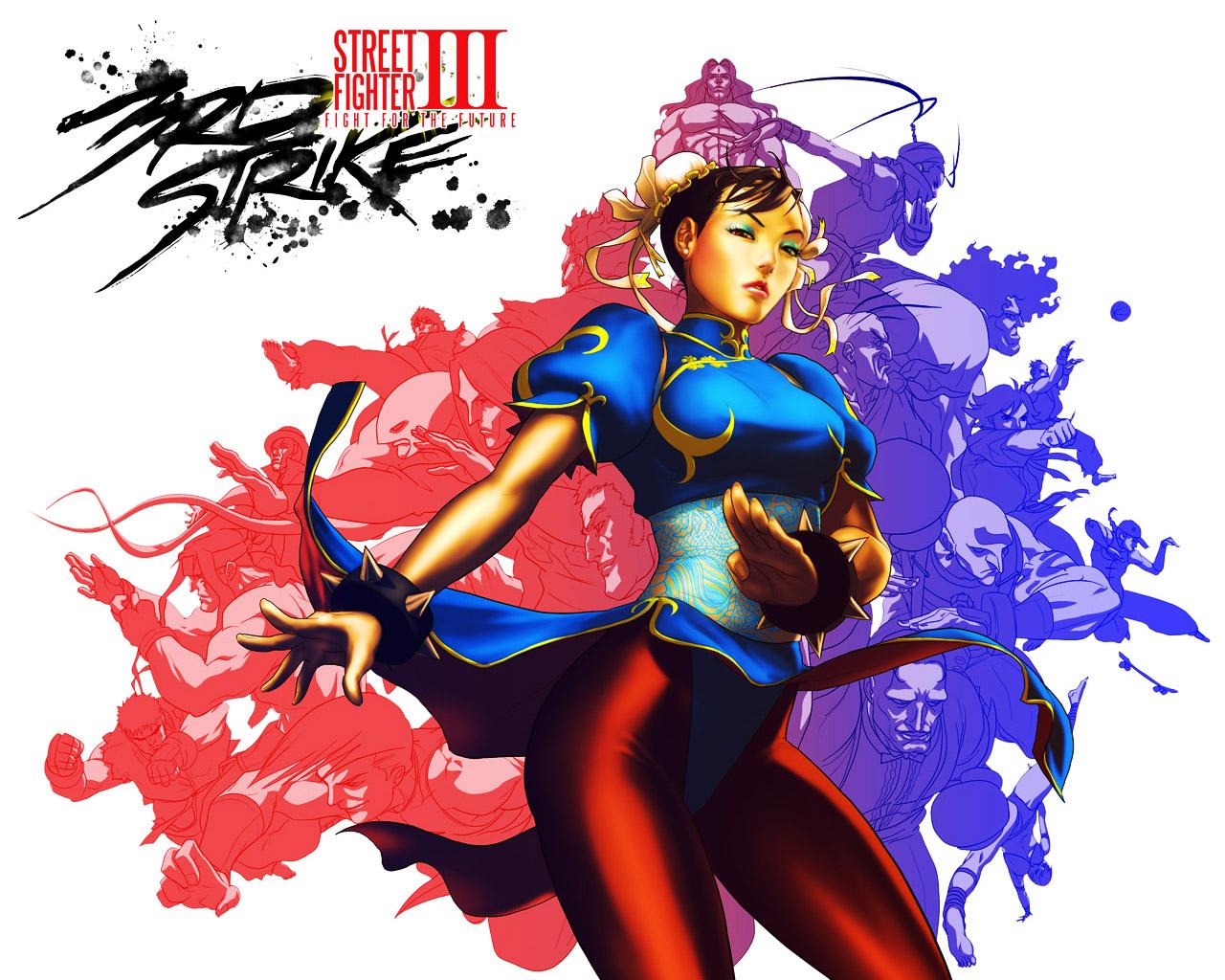 Обои Street Fighter III