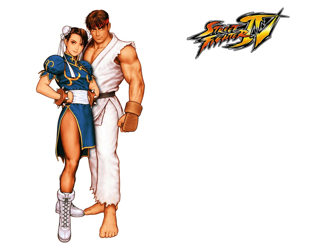 Обои Street Fighter 4 Пара