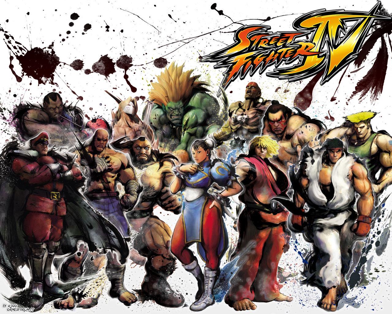 Обои Street Fighter 4 Войны