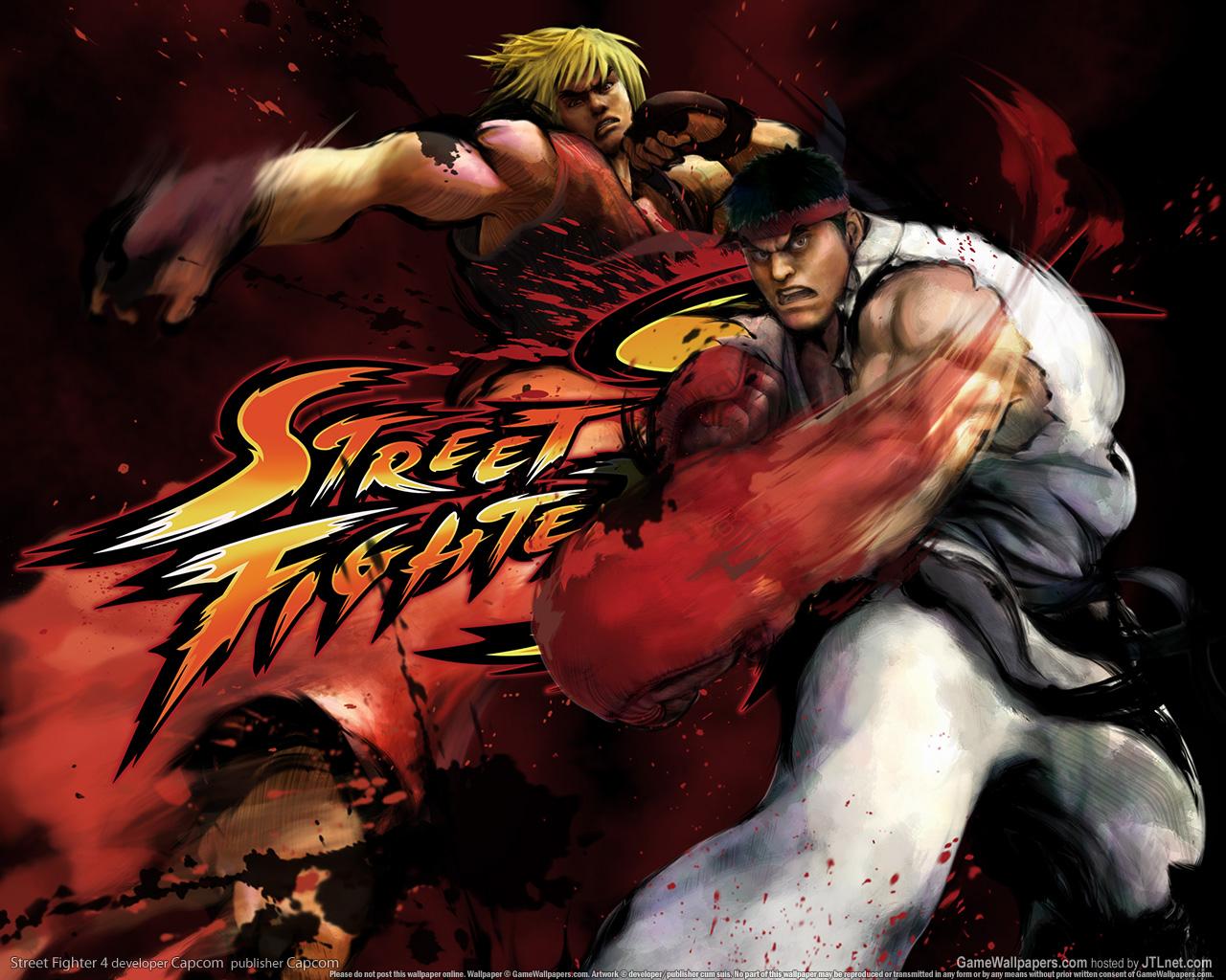 Обои Street Fighter Схватка
