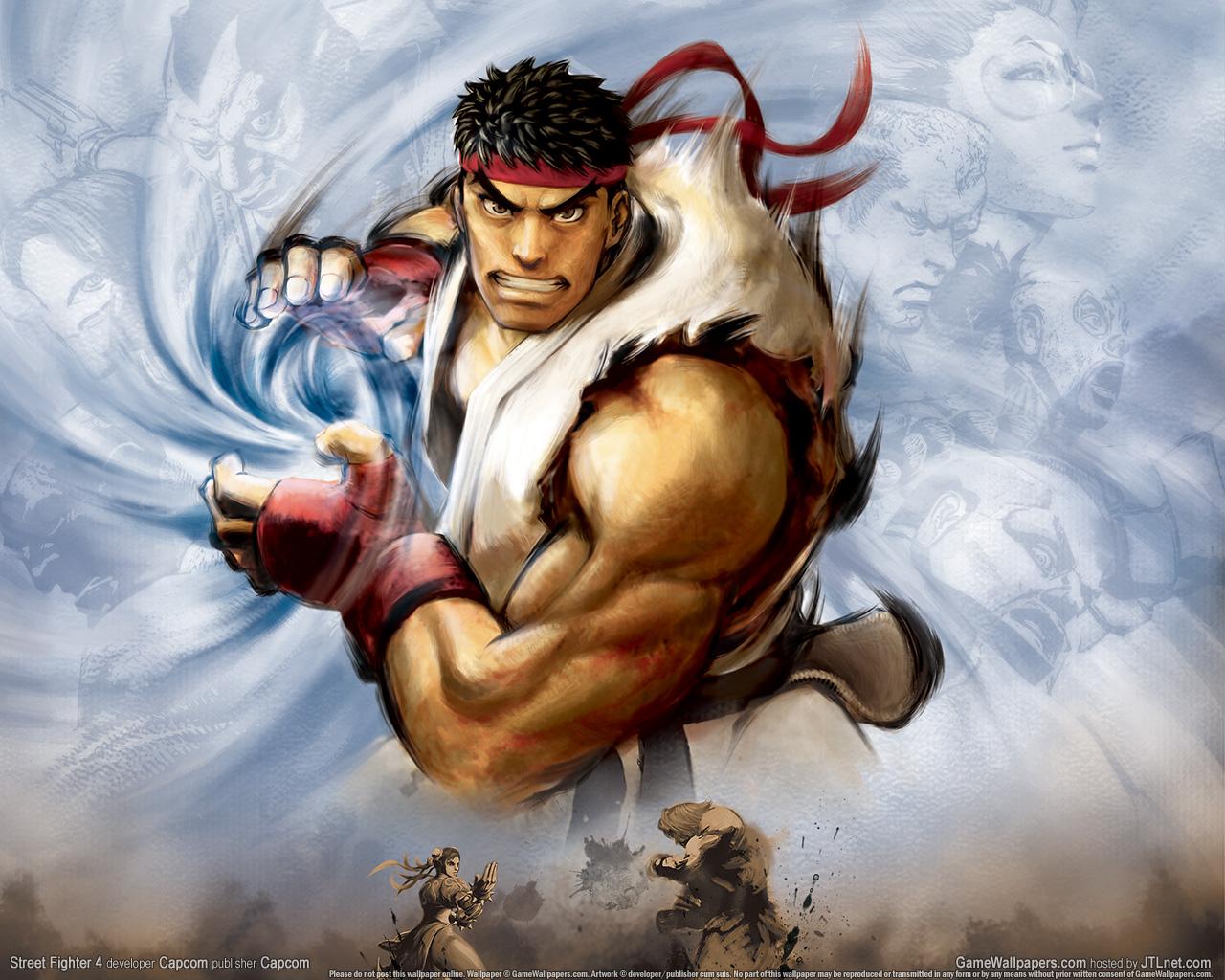 Обои Street Fighter супер удар