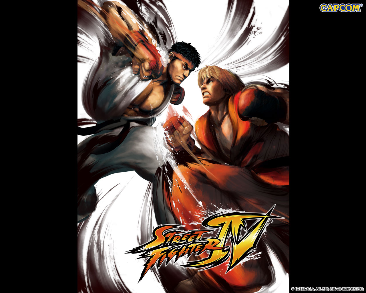 Обои Street Fighter на кулаках
