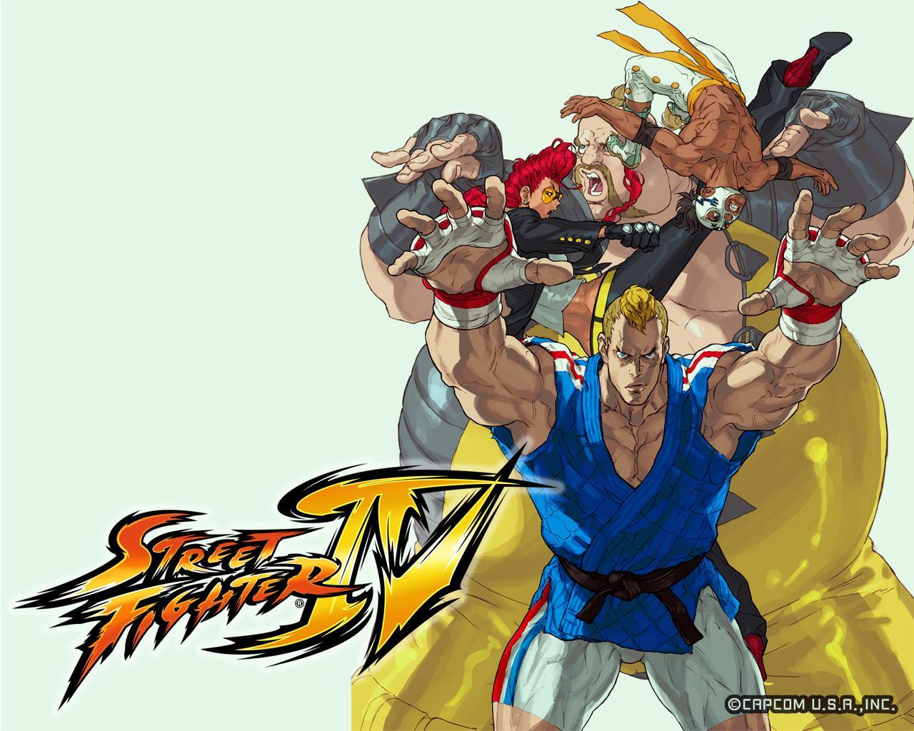 Обои Street Fighter Команда