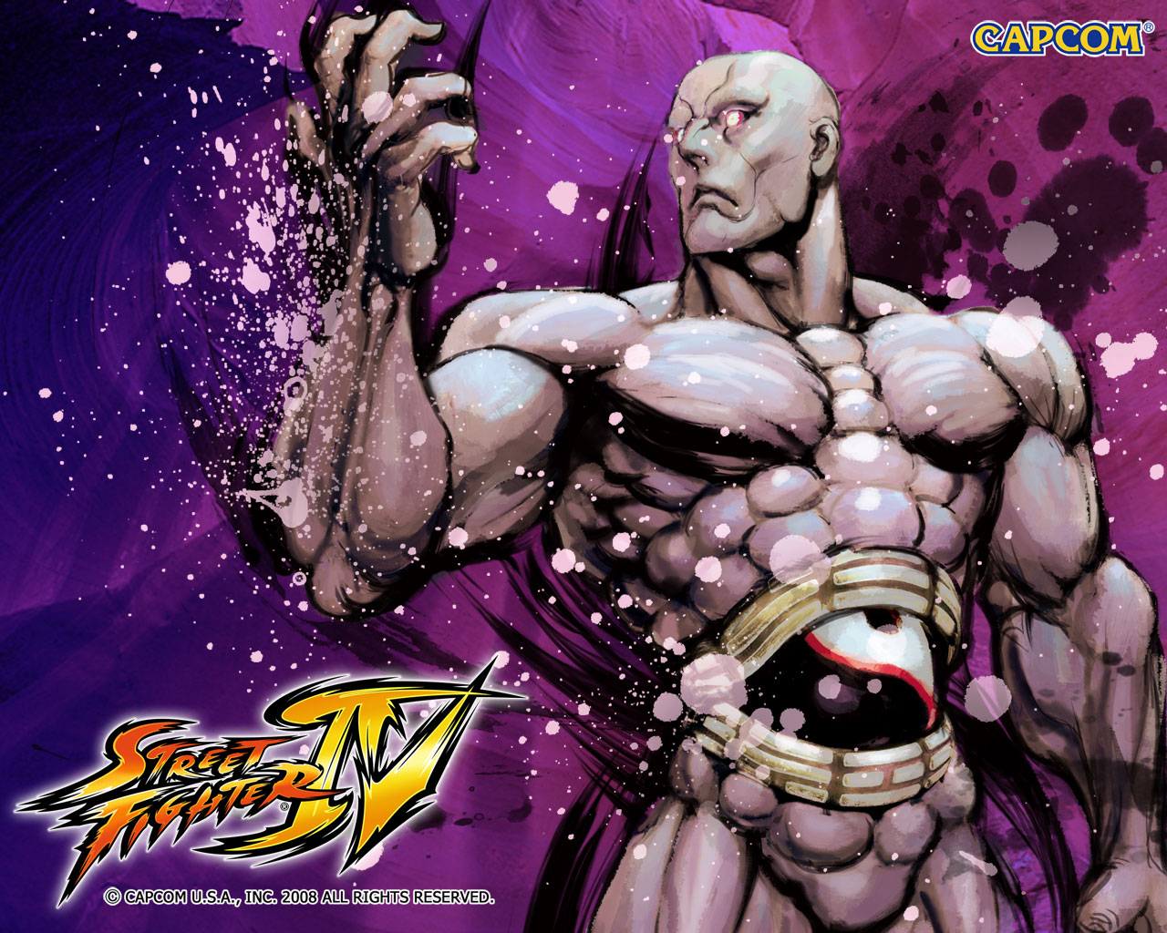 Обои Street Fighter IV Seth