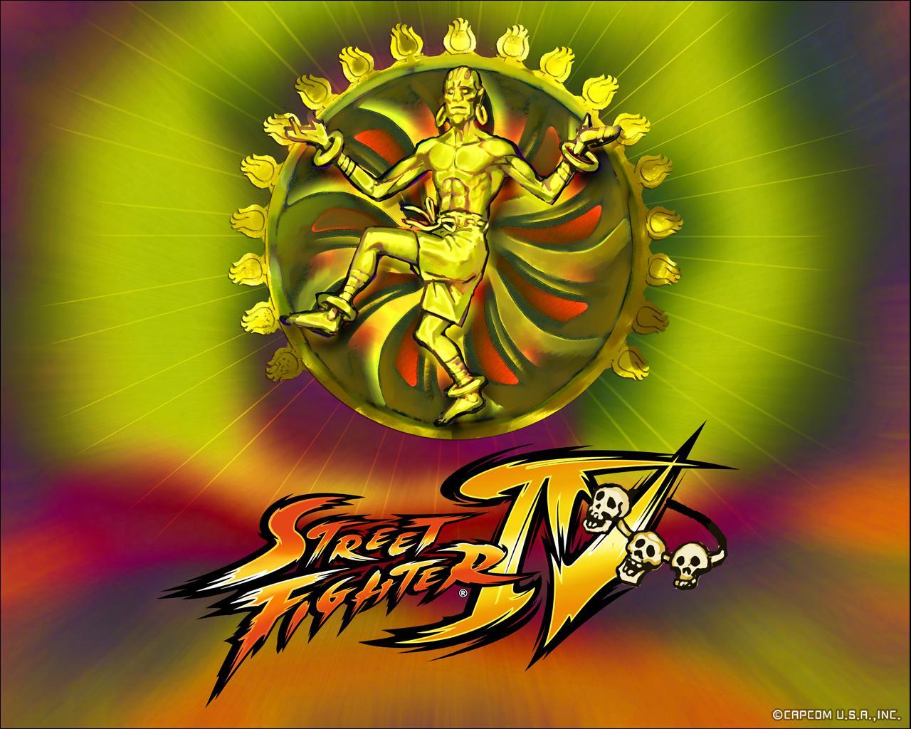 Обои Street Fighter IV Dhalsim