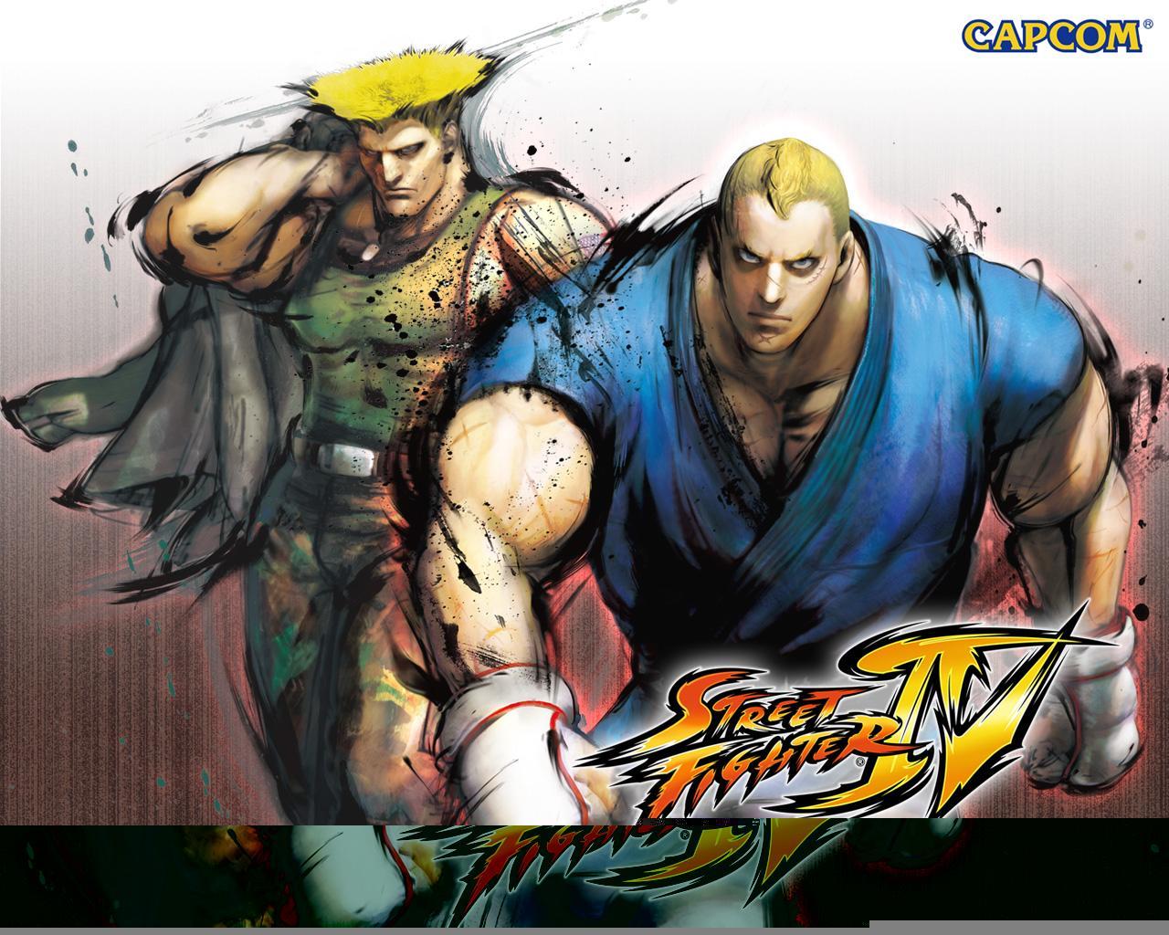 Обои Street Fighter IV Партнёры