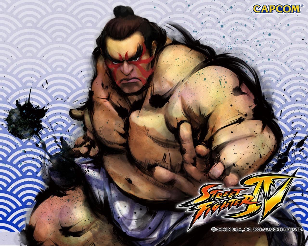 Обои Street Fighter IV Боец сумо