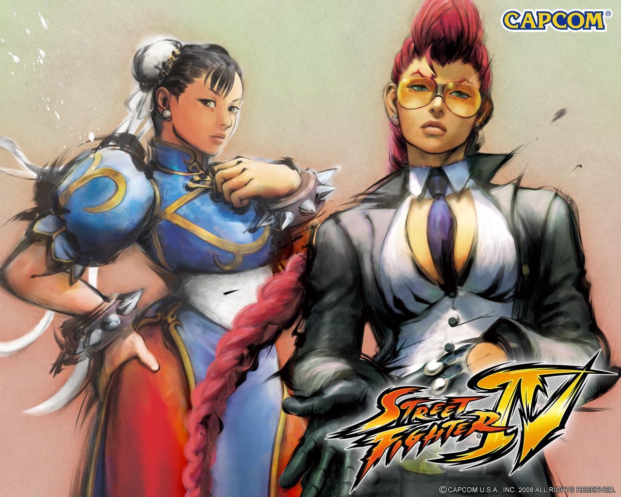 Обои Street Fighter IV Две девчонки