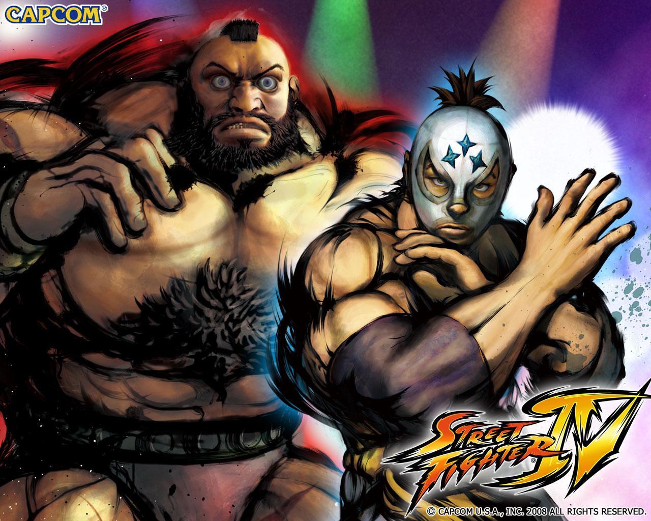Обои Street Fighter IV Ярость