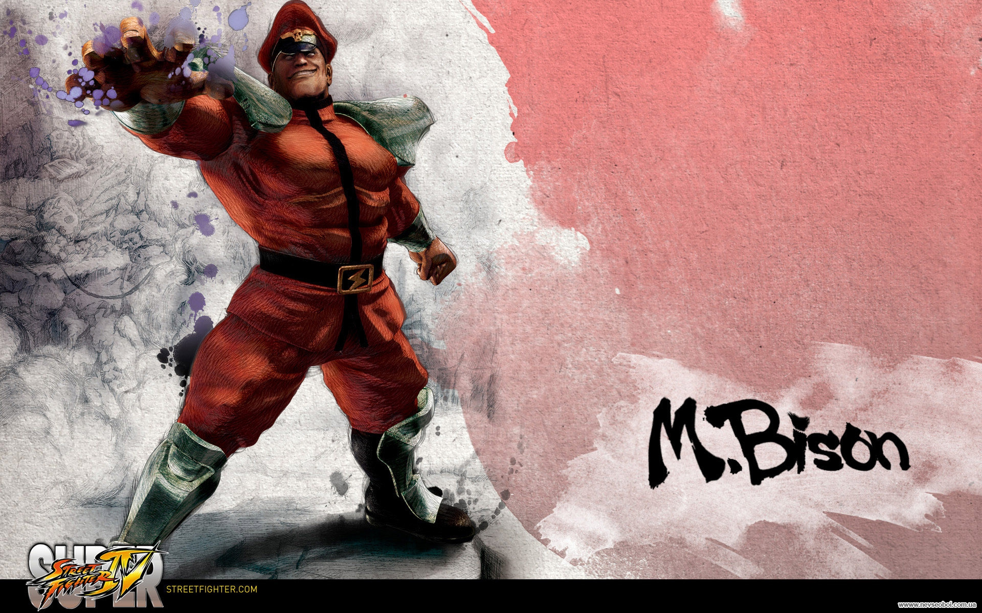 Обои Street Fighter IV M.Bison