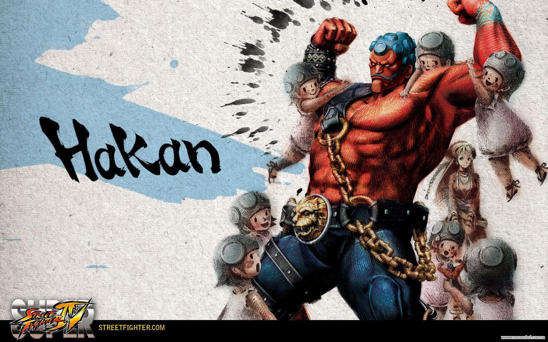 Обои Street Fighter IV Hakan
