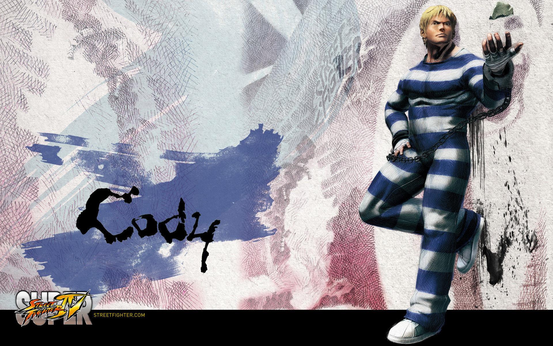 Обои Street Fighter IV Cody
