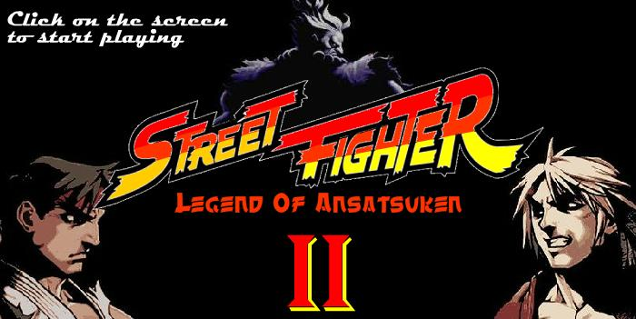 Онлайн флеш игра Street Fighter Legend Of Ansatsuken 2
