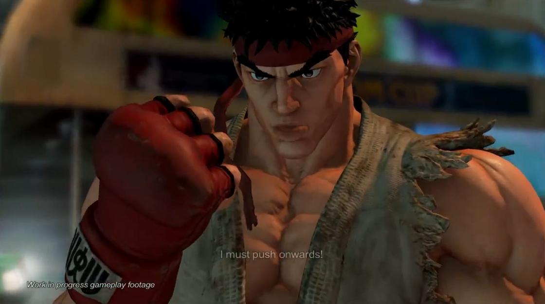 Street Fighter V игровое видео