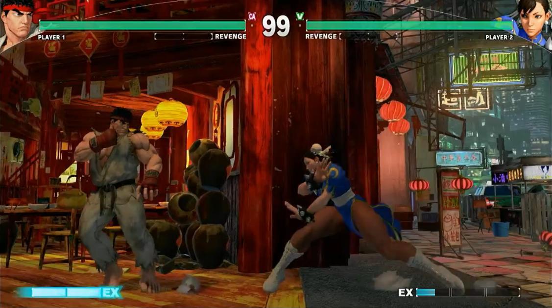 Street Fighter V на Capcom Cup 2014