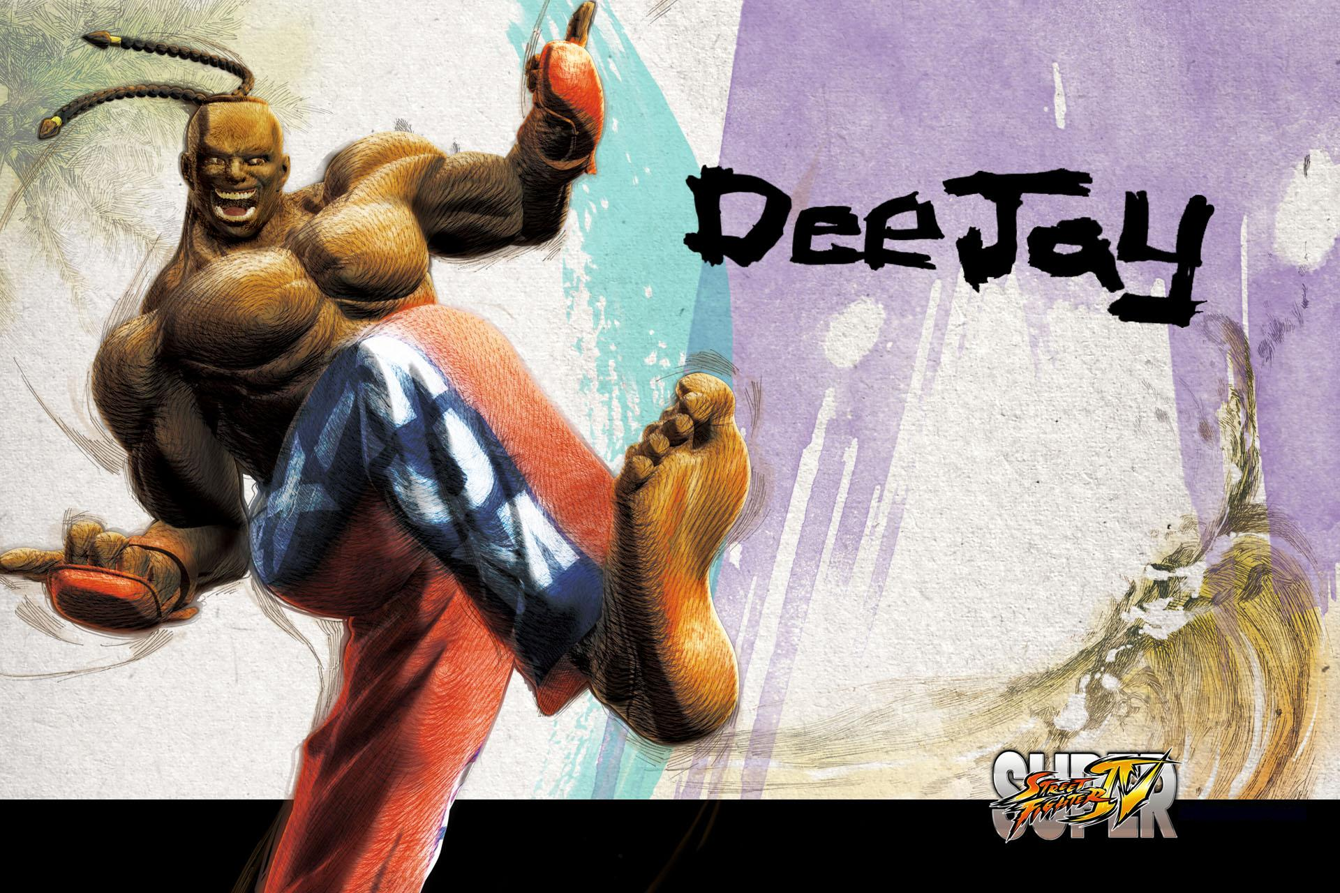 Обои Street Fighter DeeJay