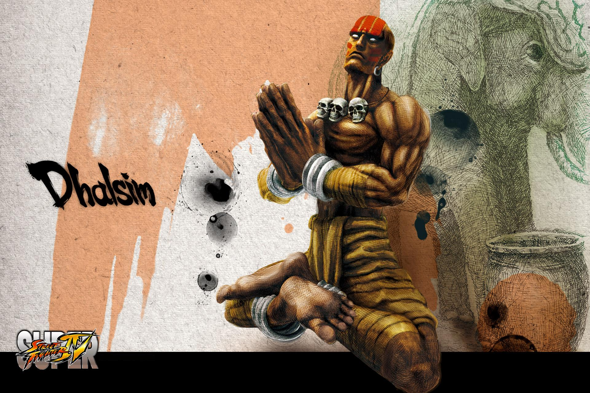 Обои Street Fighter Dhalsim
