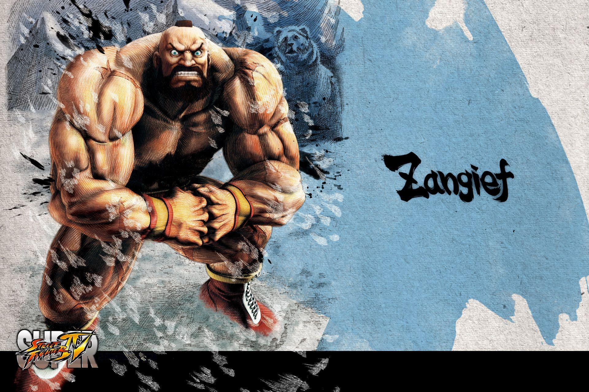 Обои Street Fighter Zangief