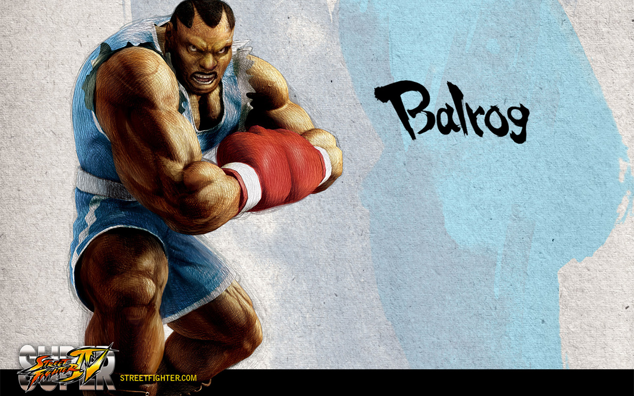 Обои Street Fighter Balrog