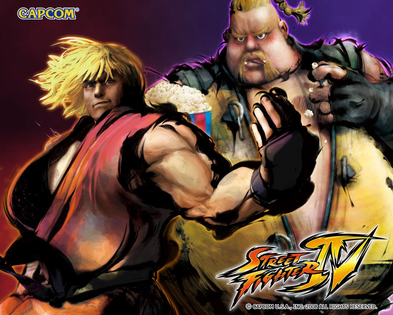 Обои Street Fighter IV Толстяк