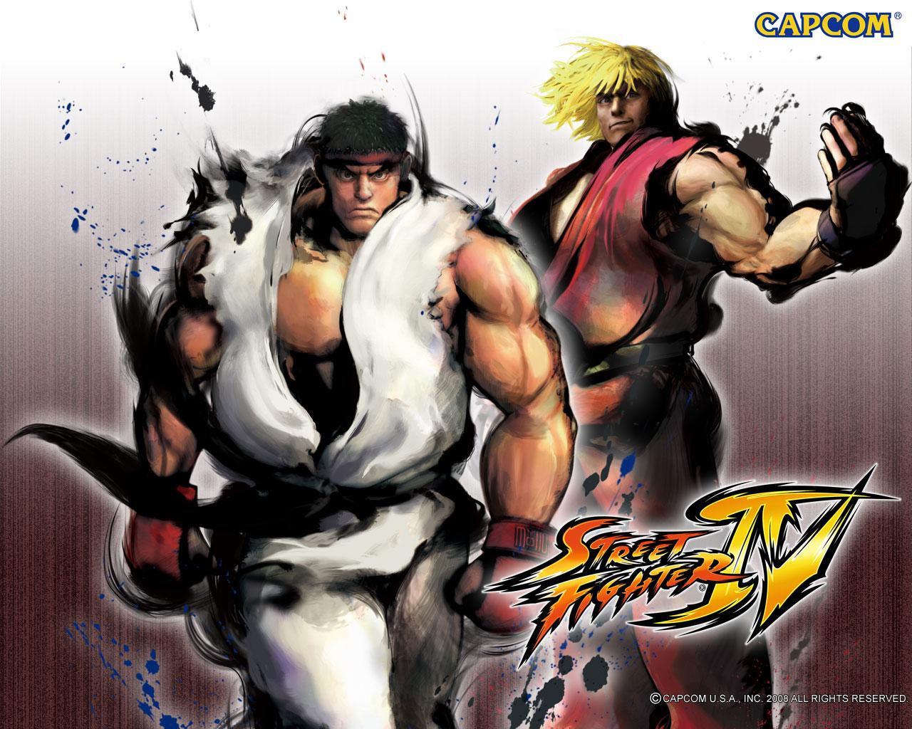 Обои Street Fighter IV Два война