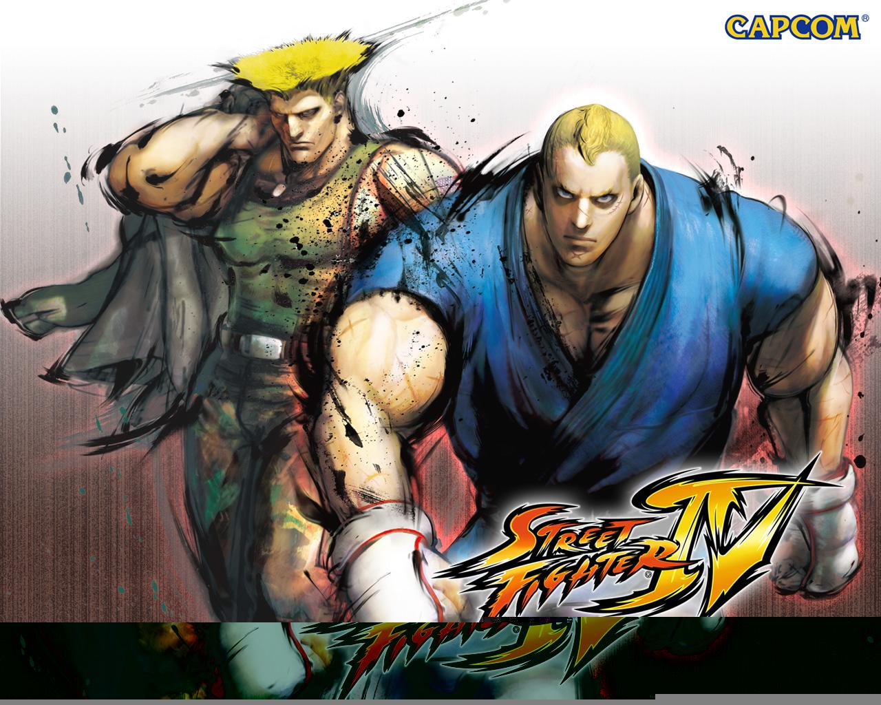 Обои Street Fighter IV Партнёры