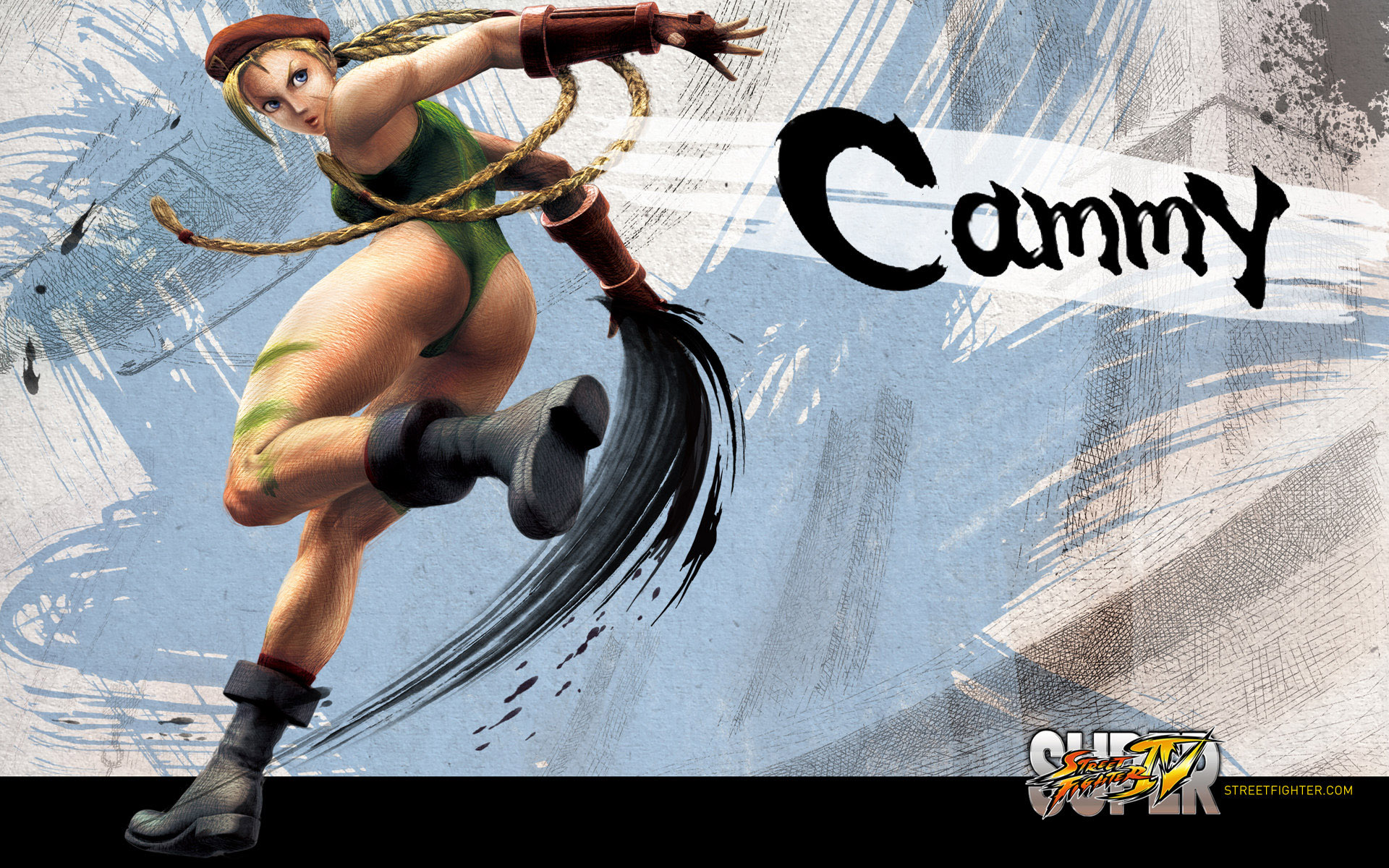 Обои Street Fighter IV Cammy