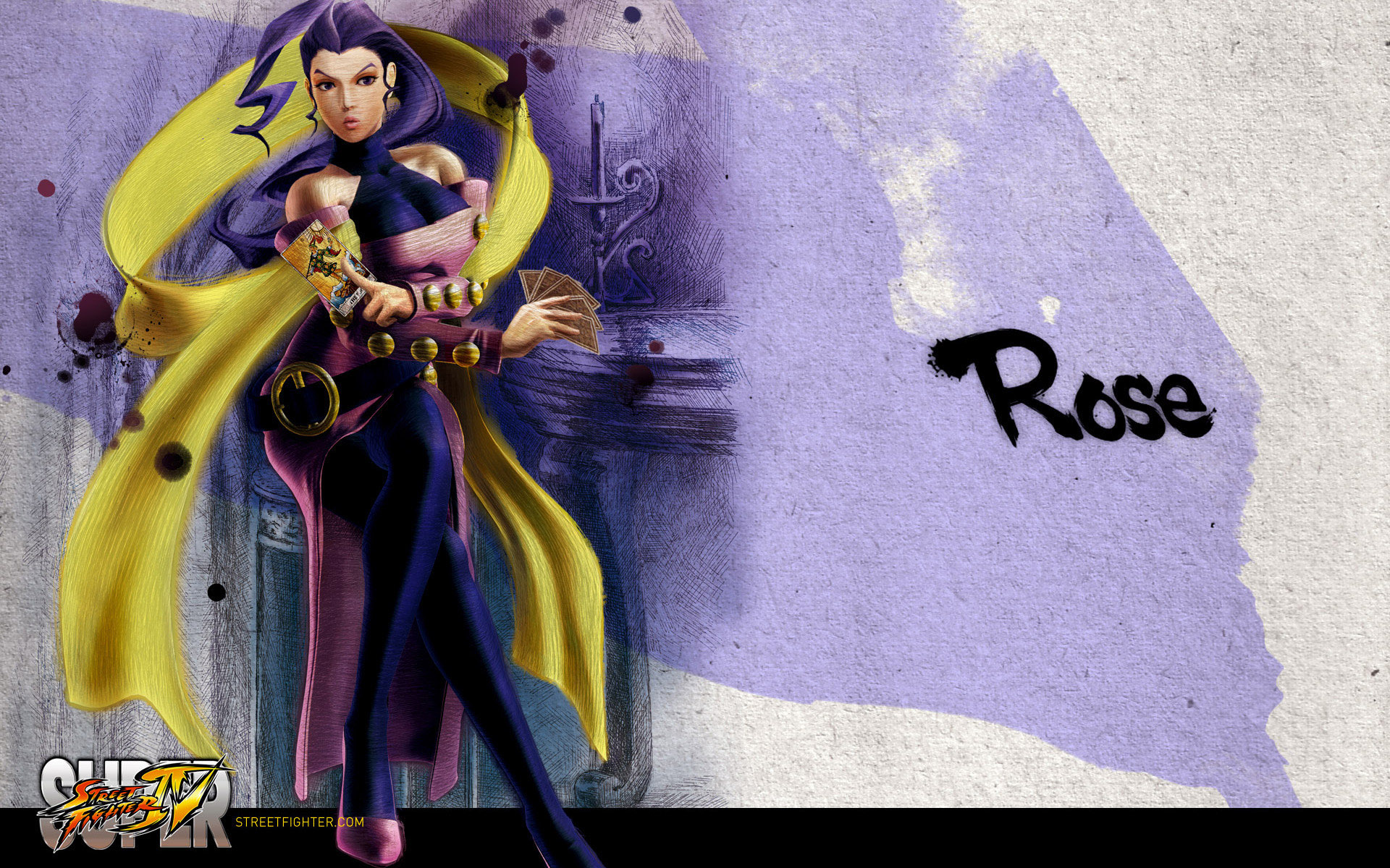Обои Street Fighter IV Rose