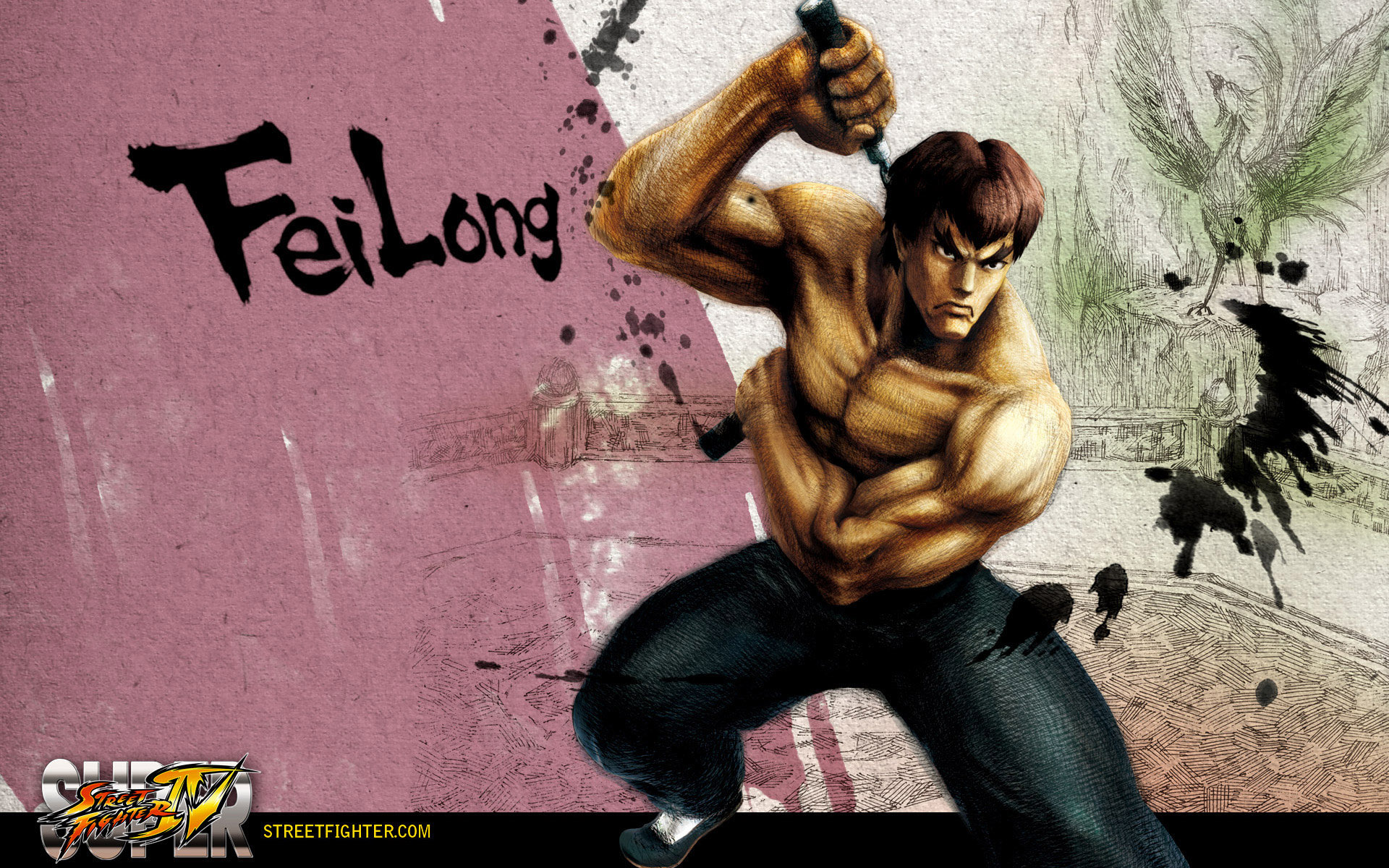 Обои Street Fighter IV Fei Long