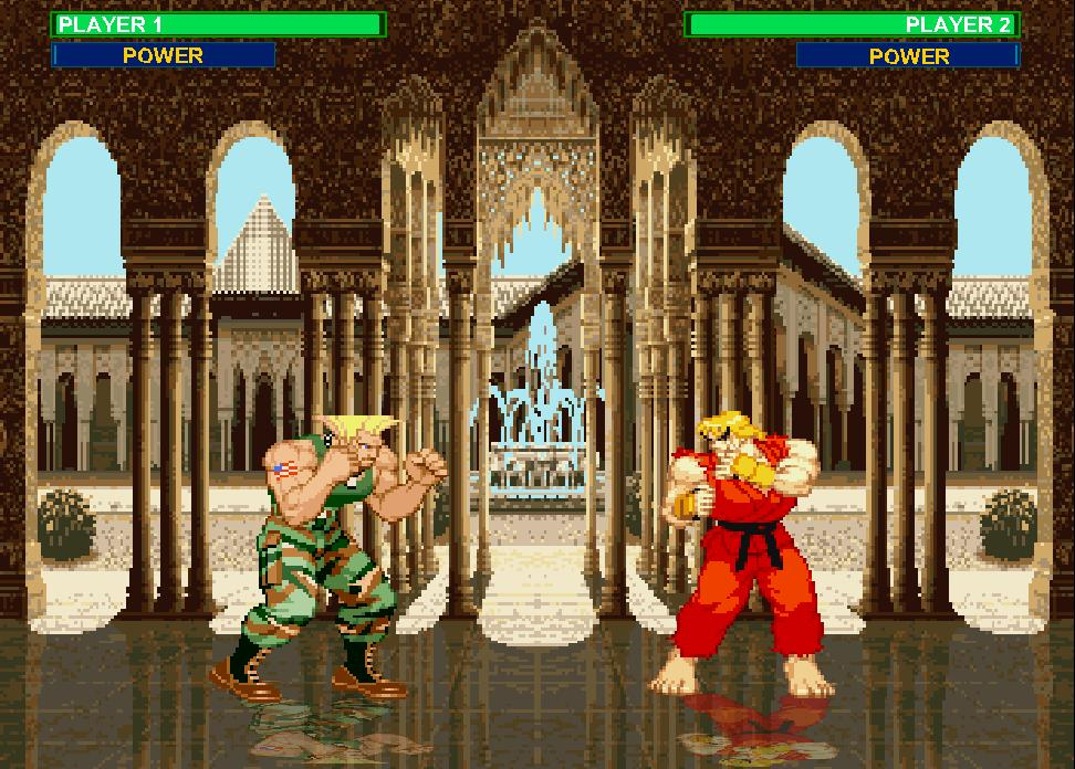 Онлайн флеш игра Super Street Fighter 2
